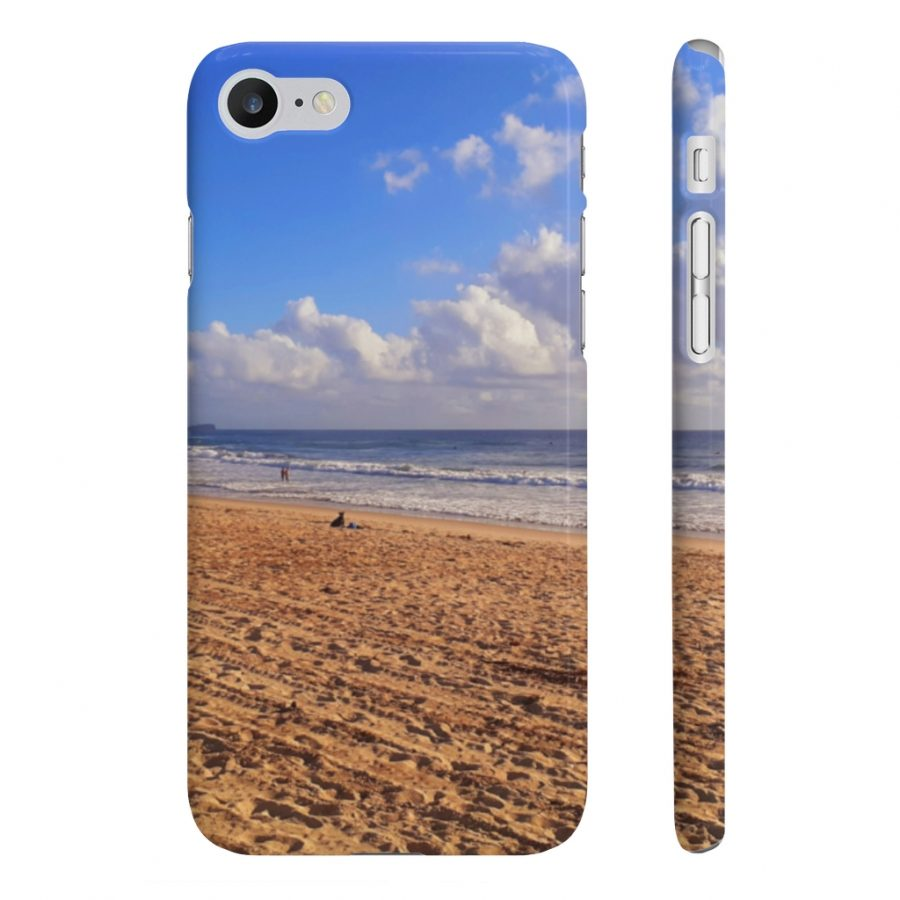 This Phone Case Clouds at Cotton Tree Beach is available to buy from the Beach Scenes online store.