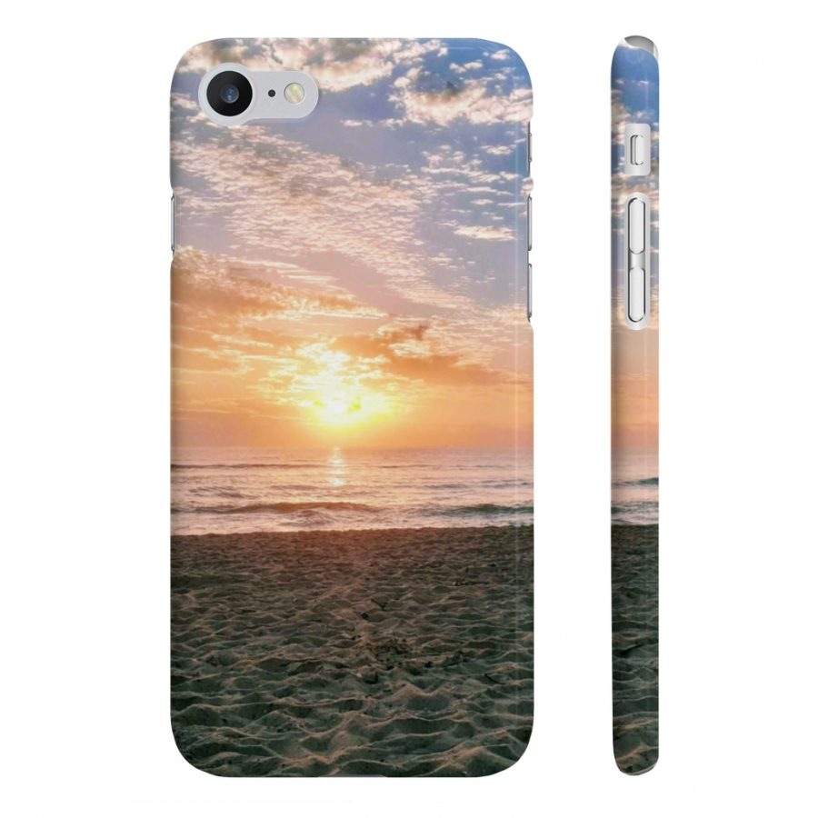This Phone Case Maroochydore Beach Sunrise is available to buy from the Beach Scenes online store.