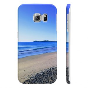 This Phone Case Blue Sky Ocean is available to buy from the Beach Scenes online store.