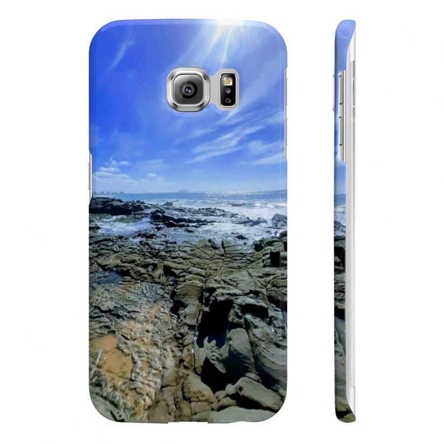 This Phone Case Ocean Beach Rocks is available to buy from the Beach Scenes online store.