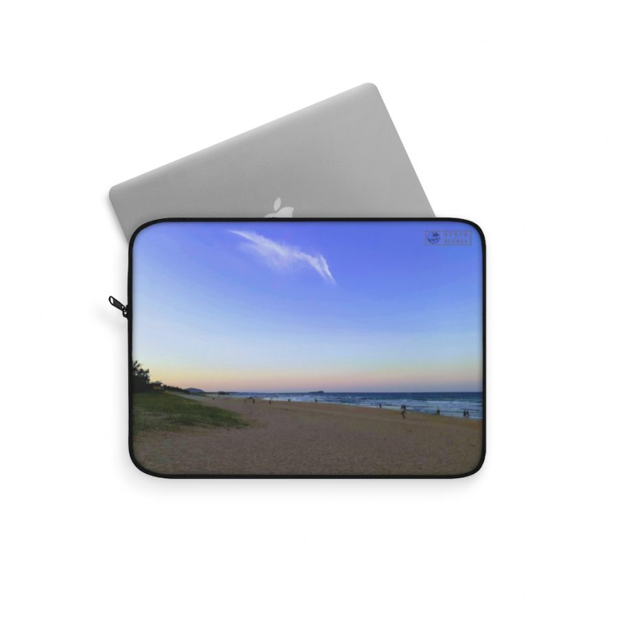 This Pterodactyl Cloud at Maroochydore Beach Laptop Sleeve is available to buy from the Beach Scenes online store.