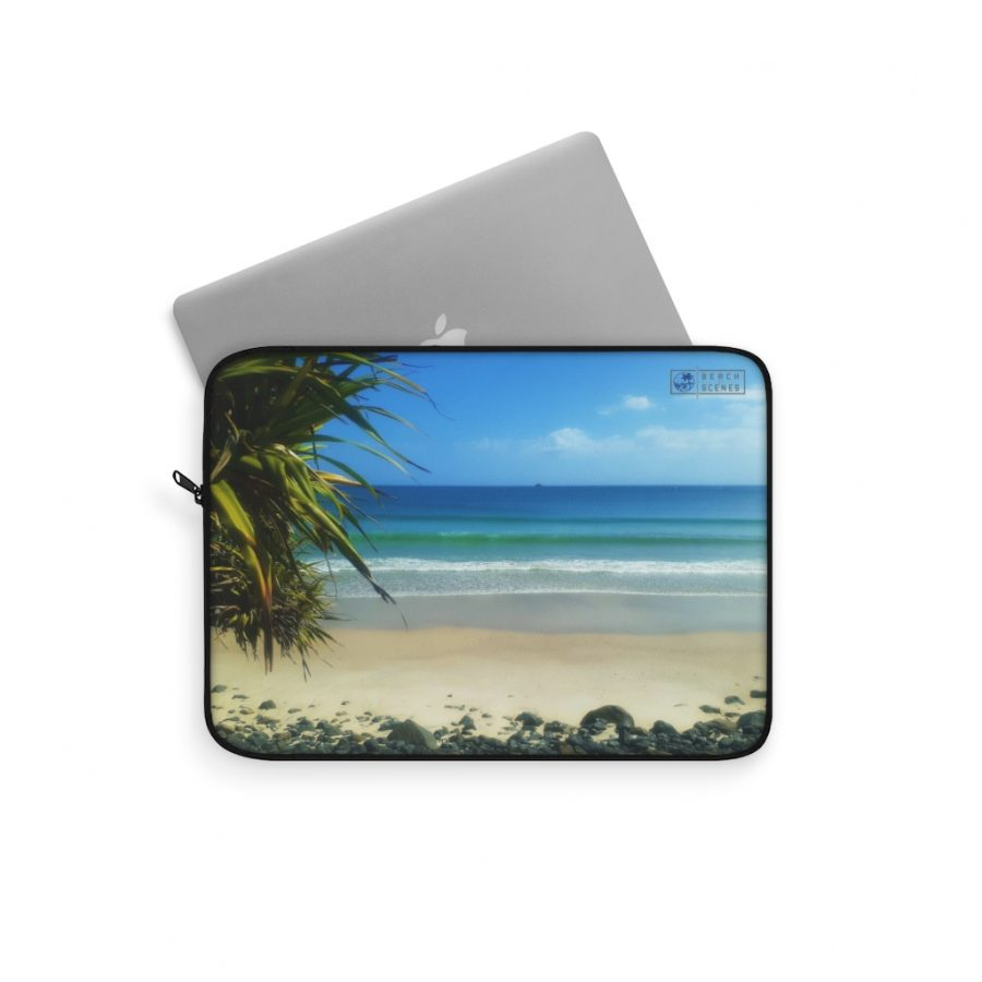 This Byron Bay View Laptop Sleeve is available to buy from the Beach Scenes online store.