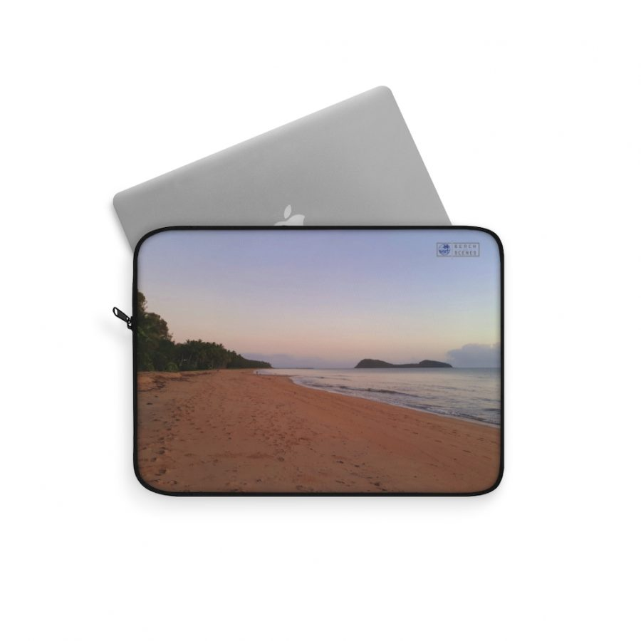 This Palm Cove Beach Laptop Sleeve is available to buy from the Beach Scenes online store.