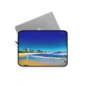 This Alexandra Headlands Beach Laptop Sleeve is available to buy from the Beach Scenes online store.