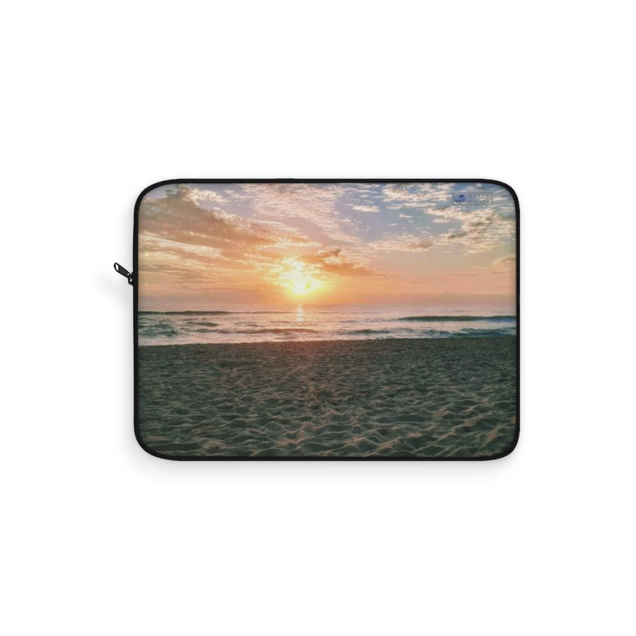 This Sunrise Maroochydore Beach Laptop Sleeve is available to buy from the Beach Scenes online store.
