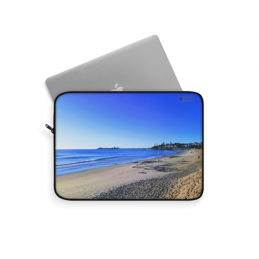 This Blue Ocean Sky Laptop Sleeve is available to buy from the Beach Scenes online store.