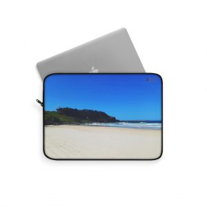 This Yamba Beach Laptop Sleeve is available to buy from the Beach Scenes online store.