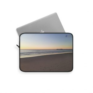 This Alexandra Headlands Sunrise Laptop Sleeve is available to buy from the Beach Scenes online store.