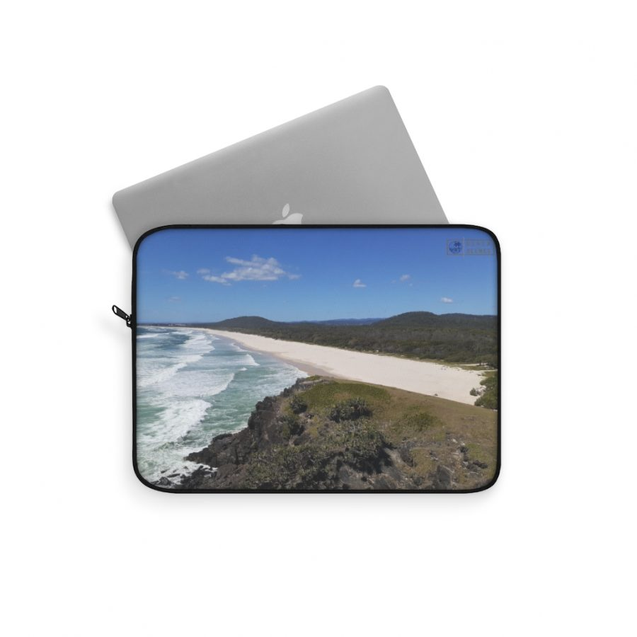 This Cabarita Beach Laptop Sleeve is available to buy from the Beach Scenes online store.