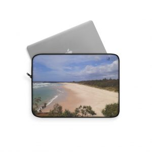 This Ballina Beach Laptop Sleeve is available to buy from the Beach Scenes online store.