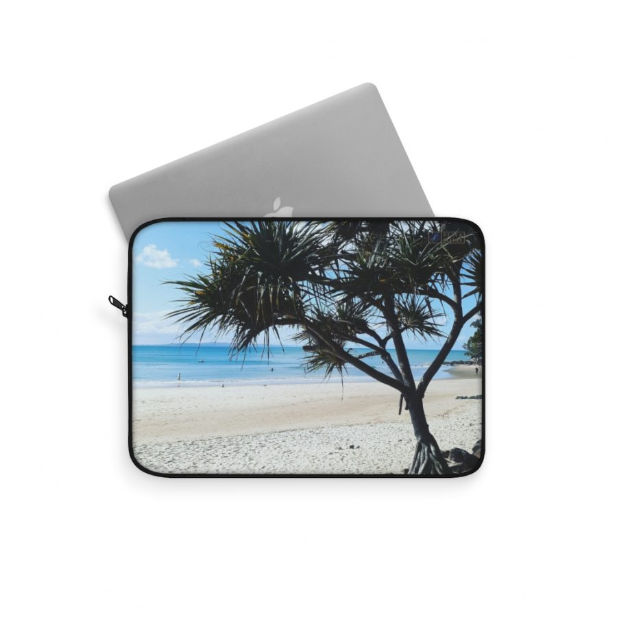 This Pandanus Tree Laptop Sleeve is available to buy from the Beach Scenes online store.