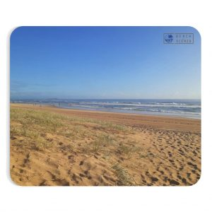 This Minimalist Beach Mousepad is available to buy from the Beach Scenes online store.