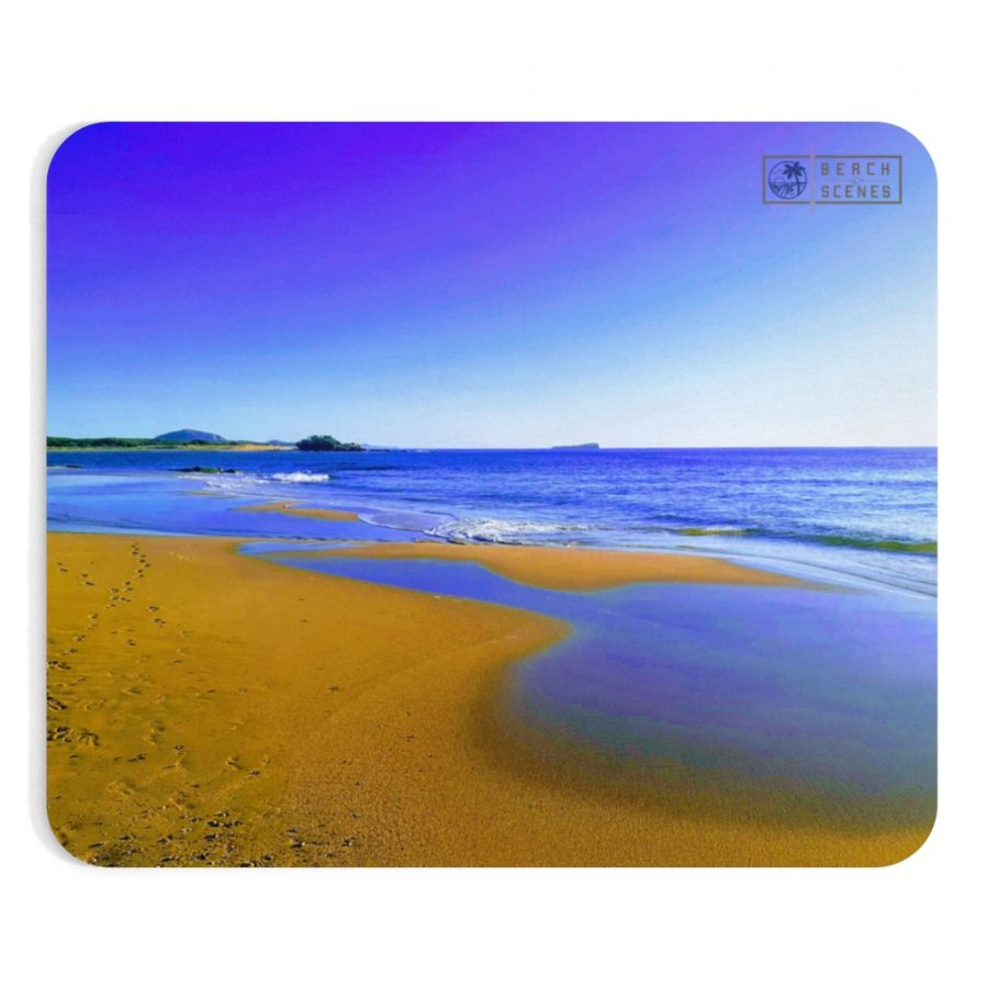 This Blues at Cotton Tree Beach Mousepad is available to buy from the Beach Scenes online store.