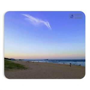 This Pterodactyl Clouds at Dickie Beach Mousepad is available to buy from the Beach Scenes online store.