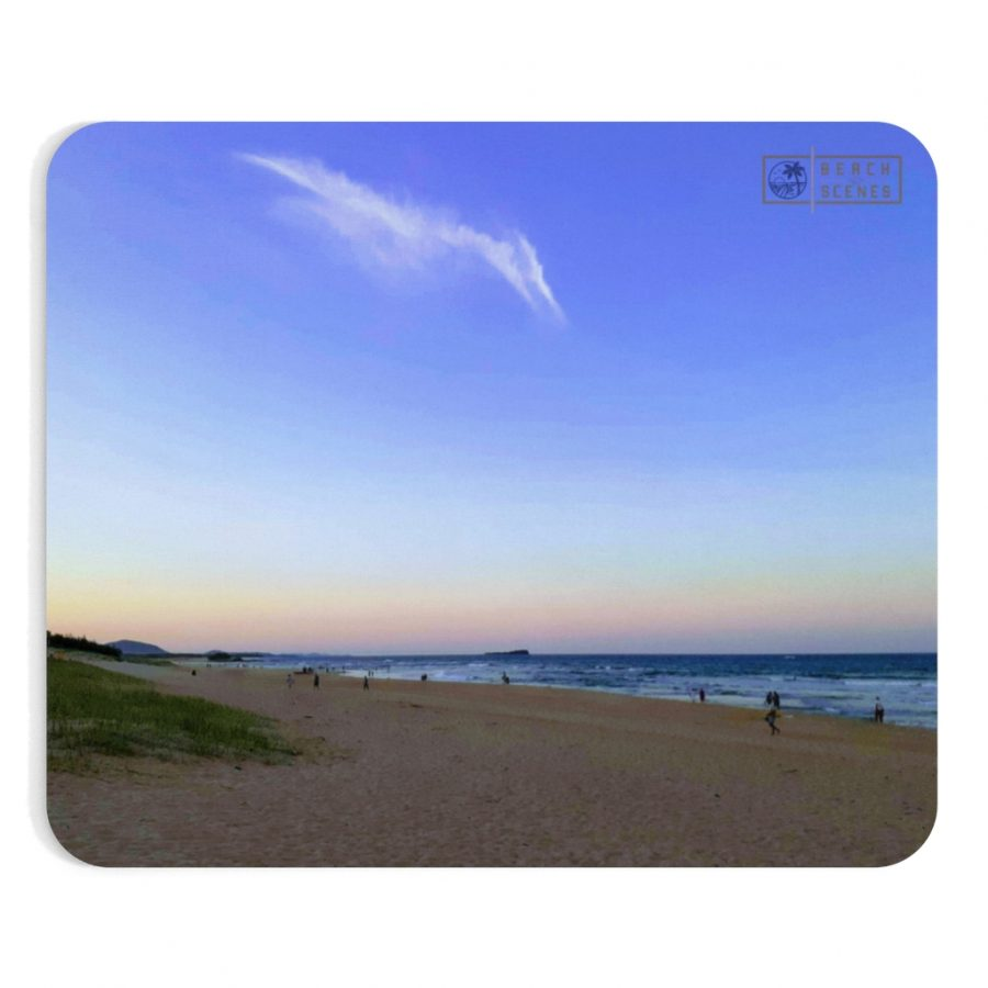 This Pterodactyl Clouds at Maroochydore Beach Mousepad is available to buy from the Beach Scenes online store.