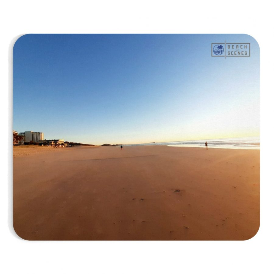 This Gold Sand at Maroochydore Beach Mousepad is available to buy from the Beach Scenes online store.