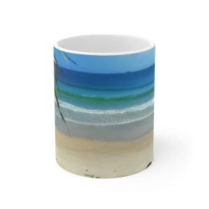 This Byron Bay View Ceramic Mug is available to buy from the Beach Scenes online store.