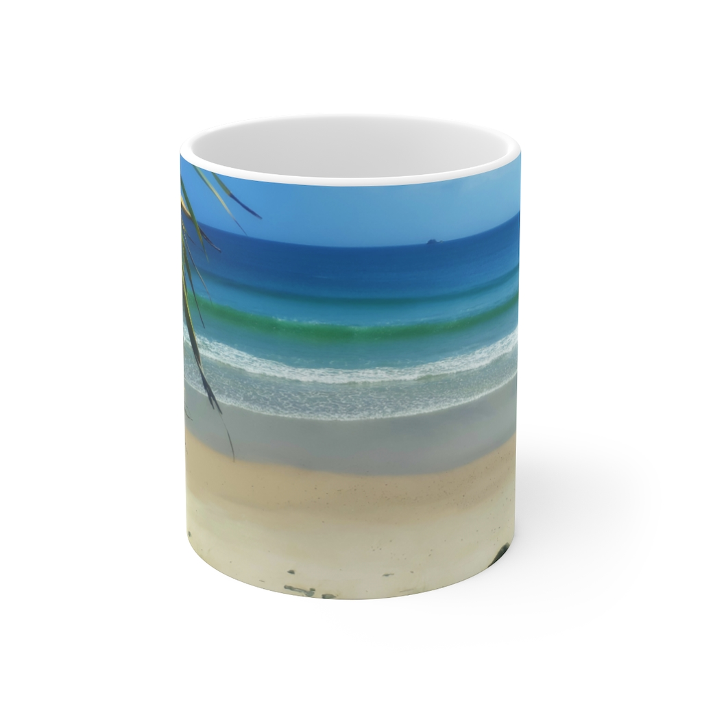 This Byron Bay View Cup is available to buy from the Beach Scenes online store.