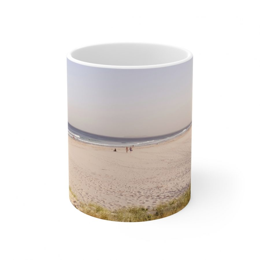 This Serene Beach Ceramic Mug is available to buy from the Beach Scenes online store.
