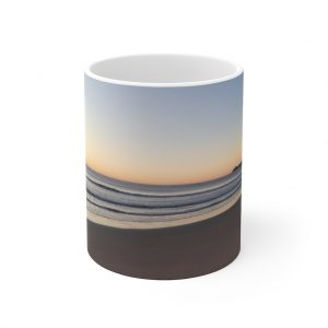 This Alexandra Headlands Beach Sunrise Mug is available to buy from the Beach Scenes online store.