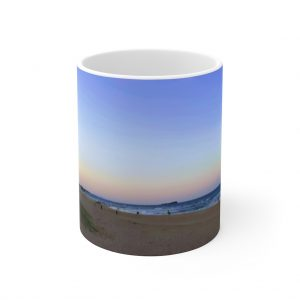 This Maroochydore Beach Ceramic Mug is available to buy from the Beach Scenes online store.