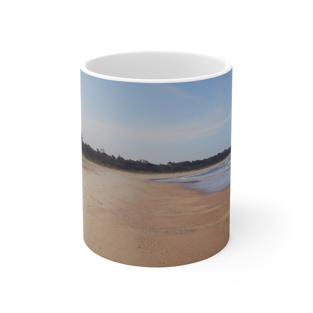 This Iluka Beach Ceramic Mug is available to buy from the Beach Scenes online store.