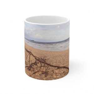 This Driftwood at Beach Ceramic Mug is available to buy from the Beach Scenes online store!
