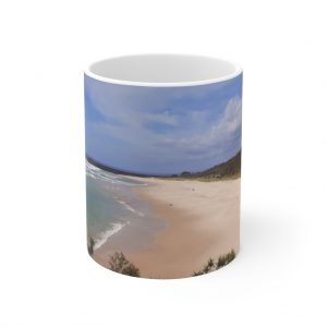 This Ballina Beach Ceramic Mug is available to buy from the Beach Scenes online store.