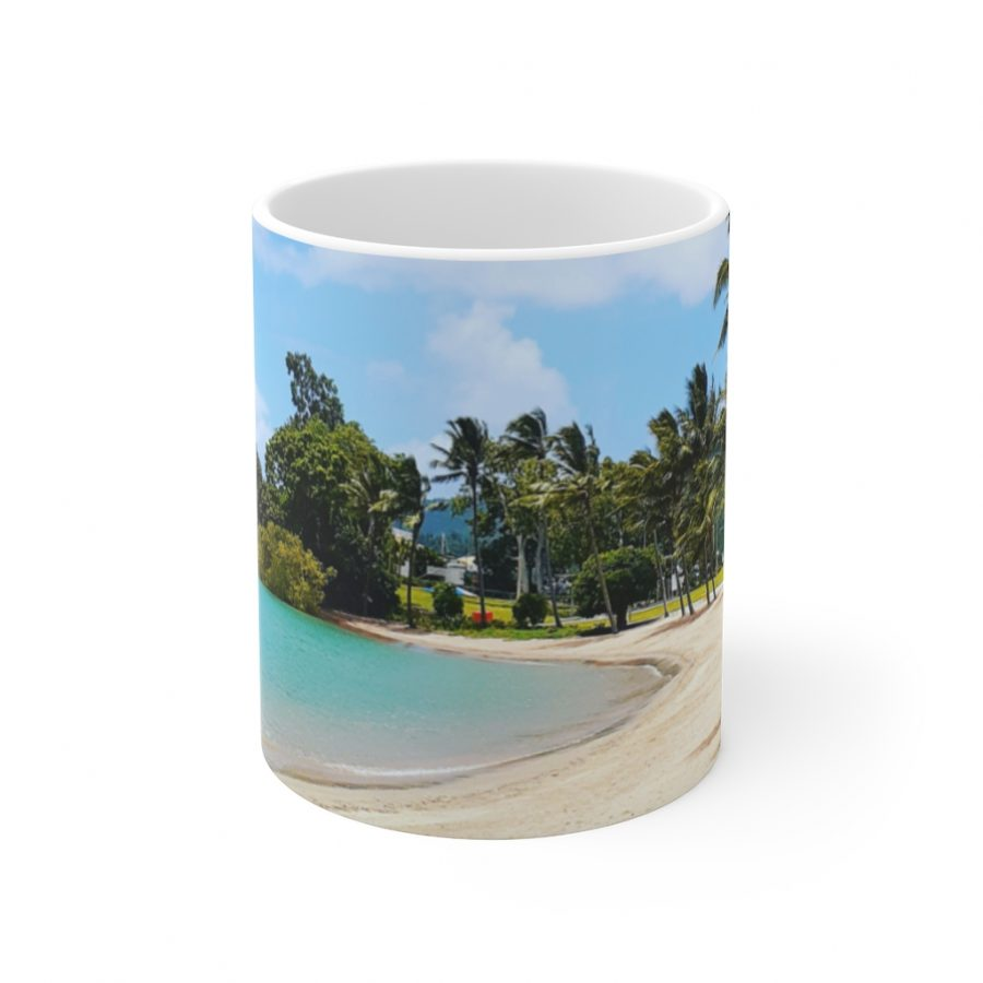 This Airlie Beach Ceramic Mug is available to buy from the Beach Scenes online store.