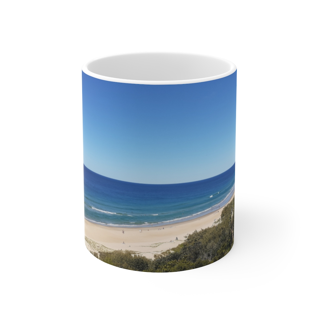 This Sunrise Beach View Ceramic Mug is available to buy from the Beach Scenes online store.