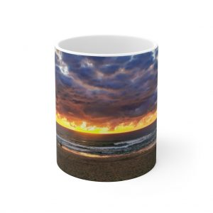 This Storm Clouds at Mudjimba Ceramic Mug is available to buy from the Beach Scenes online store.
