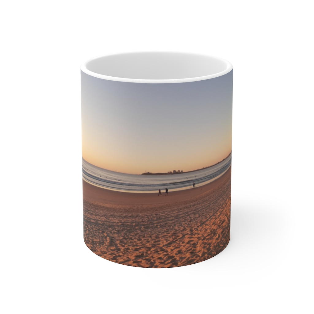 This Morning at Maroochydore Ceramic Mug is available to buy from the Beach Scenes online store.