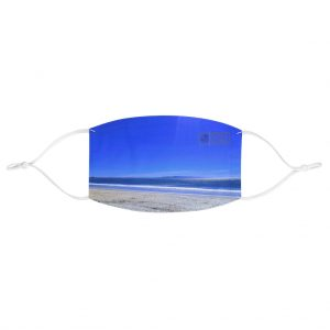 This Blue Sky Shades Face Mask is available to buy from the Beach Scenes online store.