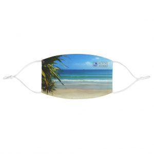 This Byron Bay View Face Mask is available to buy from the Beach Scenes online store.