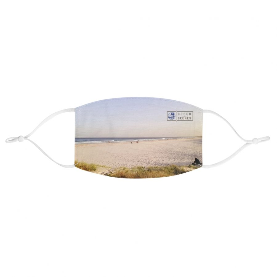 This Serene Scene at Brunswick Heads Face Mask is available to buy from the Beach Scenes online store.