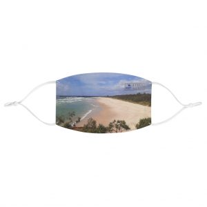 This Ballina Beach Face Mask is available to buy from the Beach Scenes online store.