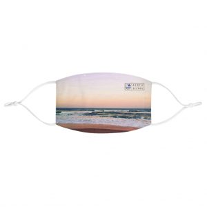 This Sunset Colours on Beach Face Mask is available to buy from the Beach Scenes online store.