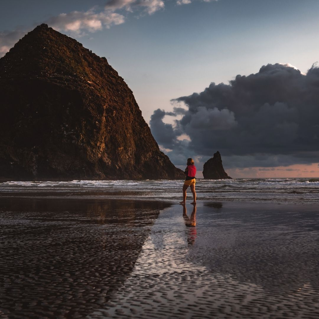 Cannon Beach in Oregon is one of the most beautiful places in the world.