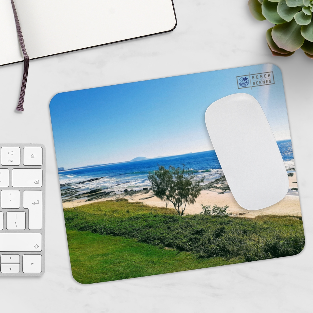 This Mooloolaba Beach View Mousepad is one of many beach themed products you can buy from the Beach Scenes online store!