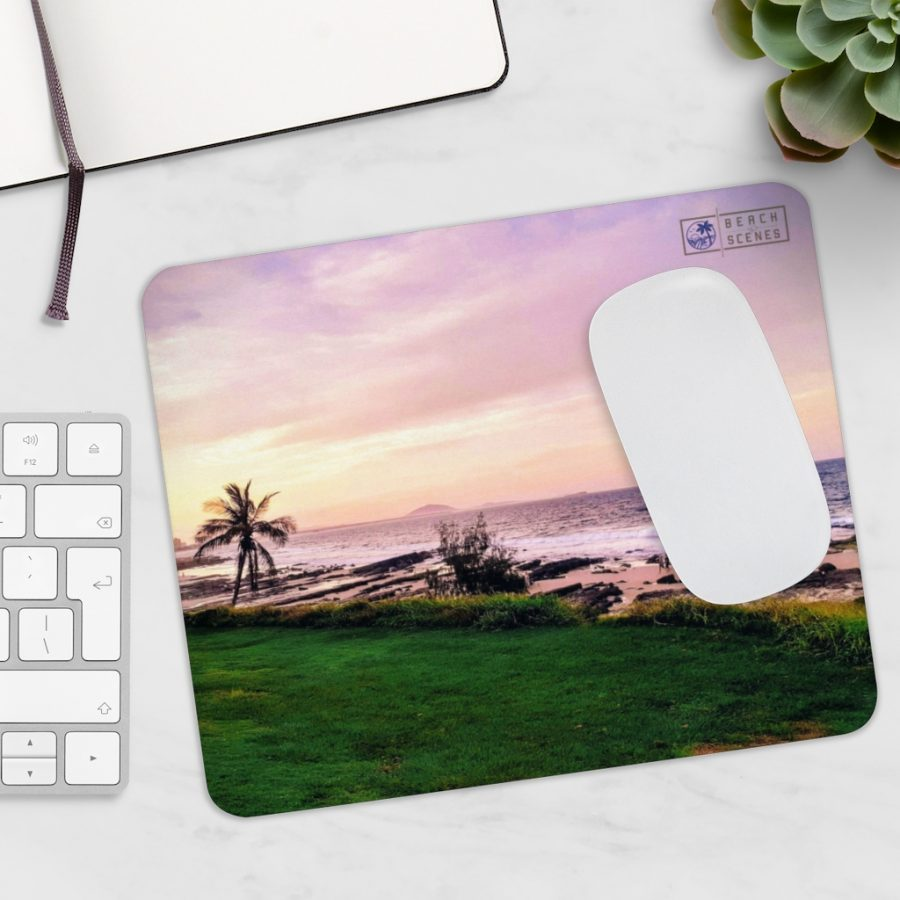 This Sunset at Mooloolaba Beach Mousepad is one of many Beach Scenes Mousepads you can buy from Beach Scenes online store.