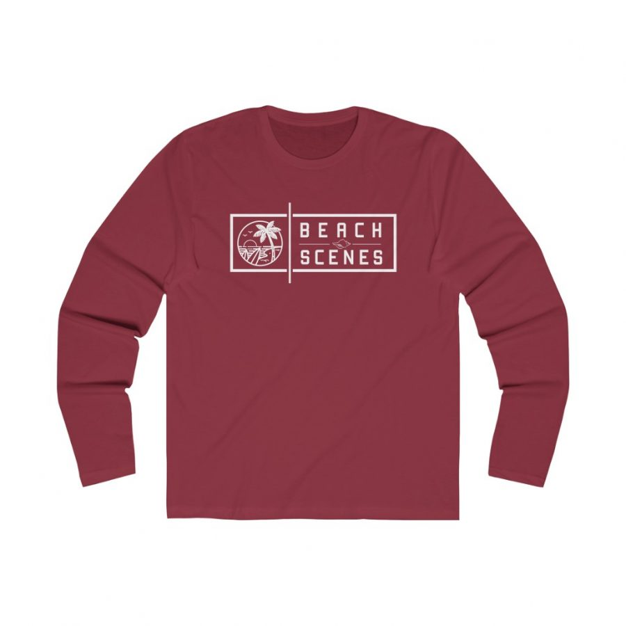 This Long Sleeve Mens Crew Tee is available to buy from Beach Scenes online store.
