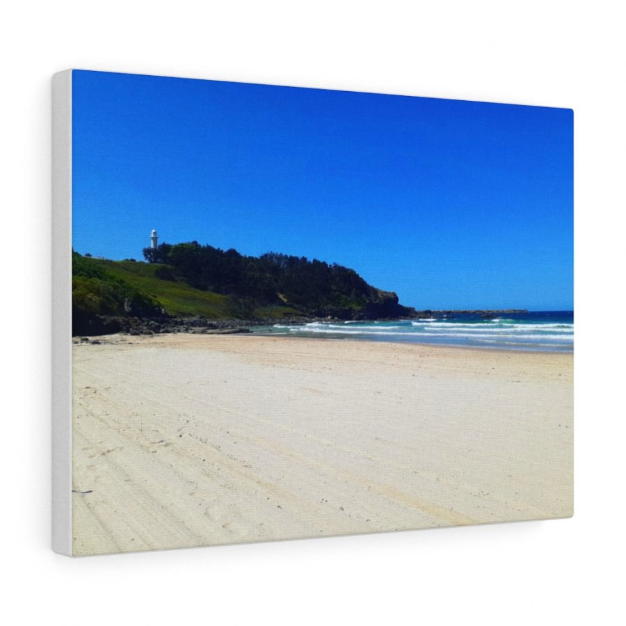 You can buy this Yamba Beach Canvas at Beach Scenes online store.
