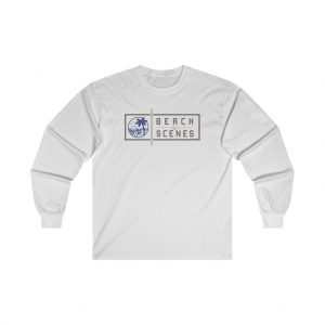 This Ultra Cotton Long Sleeve Womens Tee is available to buy from Beach Scenes online store.