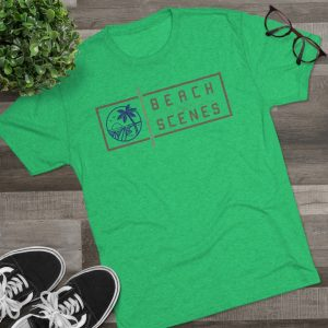 This Tri-Blend Crew Mens Tee is available to buy from Beach Scenes online store.