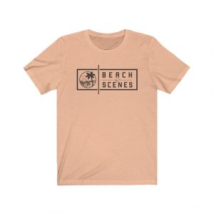 This Jersey Short Sleeve Mens Beach Scenes Tee is available to buy from Beach Scenes online store.