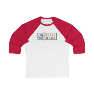 This 3/4 Sleeve womens Baseball Tee is available to buy from Beach Scenes online store.