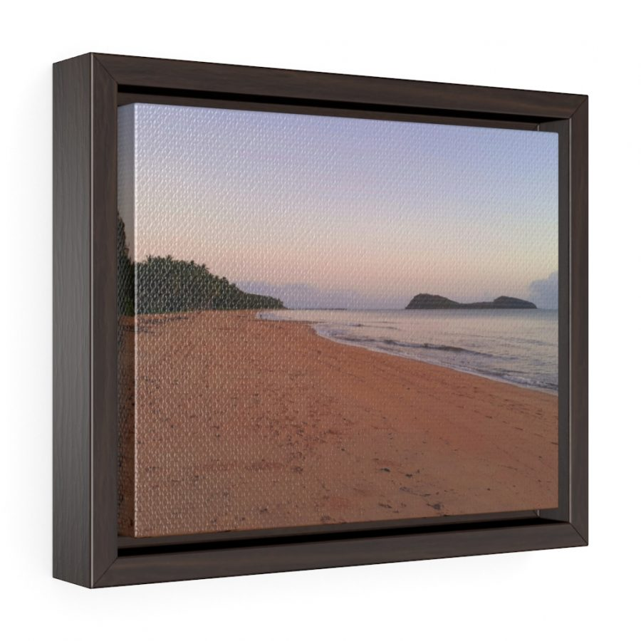 This Palm Cove Beach Framed Canvas is available to buy from Beach Scenes online store.