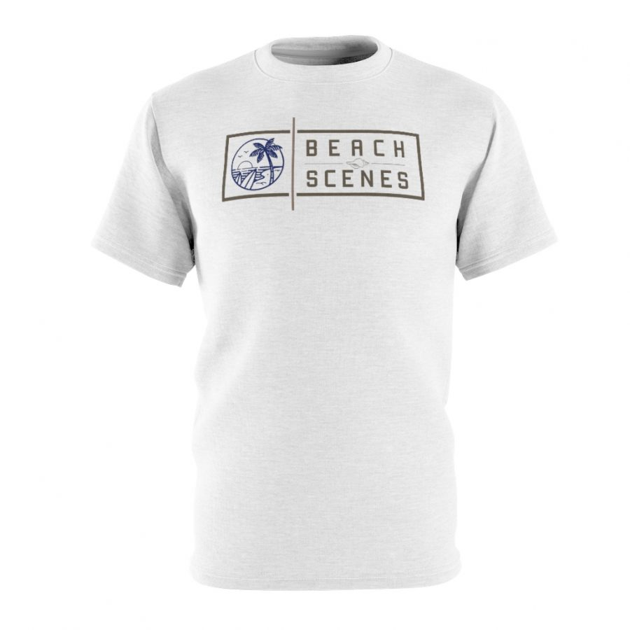 This AOP Cut and Sew Womens Tee is available to buy from Beach Scenes online store.