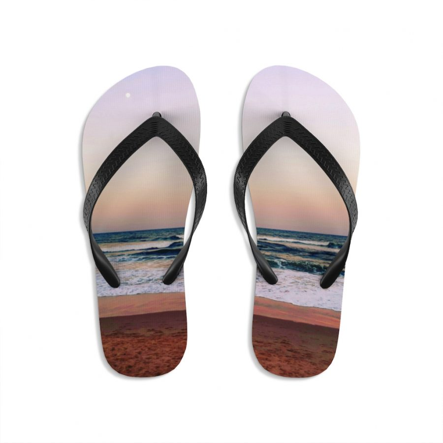 This Sunset Beach Colours Flip-Flops is available to buy from Beach Scenes online store.