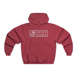 This NUBLEND Mens Hooded Sweatshirt is available to buy from Beach Scenes online store.